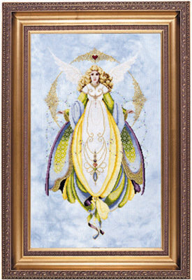 Angel of Healing - Cross Stitch Pattern