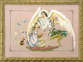 Guardian Angel - Mirabilia Cross Stitch Pattern