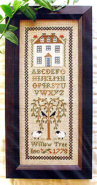 Willow Tree Inn - Cross Stitch Pattern