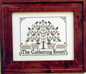 Gathering Room, The - Cross Stitch Pattern