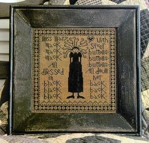 Miss Mary Mack - Cross Stitch Pattern