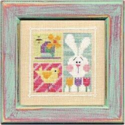 Flip-It Blocks April - Cross Stitch Pattern