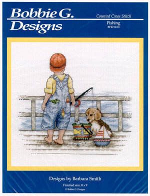 Fishing - Cross Stitch Pattern