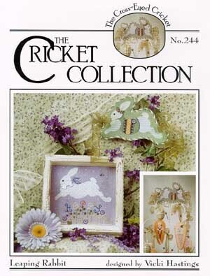 Leaping Rabbit #244 - Cross Stitch Pattern