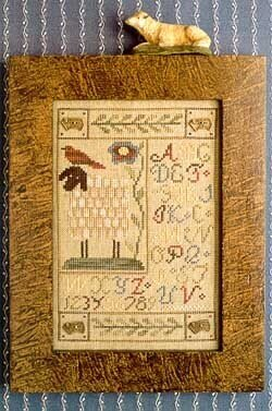 Sheep Button Sampler - Cross Stitch Pattern