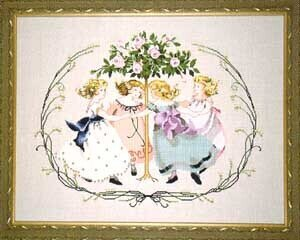 Ring Around the Rose Tree - Mirabilia Cross Stitch Pattern