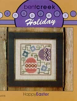 Snapper Holiday Happy Easter - Cross Stitch Pattern