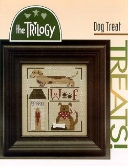 Dog Treat - Cross Stitch Pattern