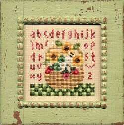 Summer Basket - Cross Stitch Pattern