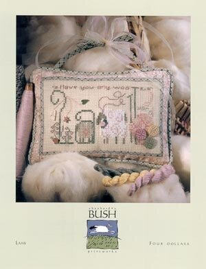 Lamb - Cross Stitch Pattern