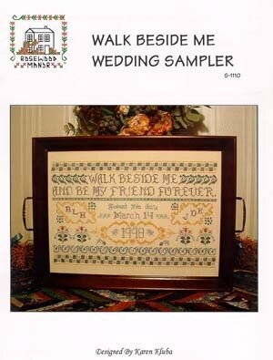 Barbara Ana Designs Love Never Fails - Cross Stitch Pattern