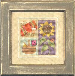 Flip It Blocks August - Cross Stitch Pattern