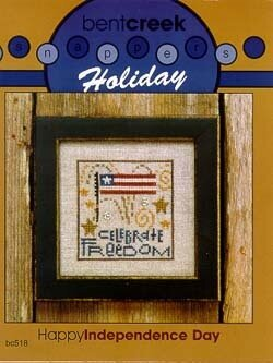 Snapper Holiday Happy Independence Day - Stitch Pattern
