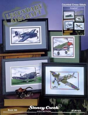Legendary Aircraft - Cross Stitch Pattern