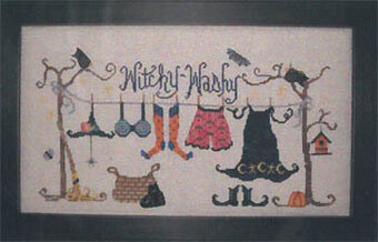Witchy Washy - Cross Stitch Pattern