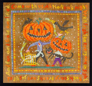 All Hallow's Night - Cross Stitch Pattern