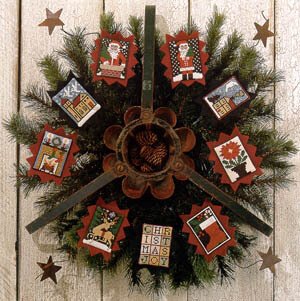 Prairie Stars - Cross Stitch Pattern