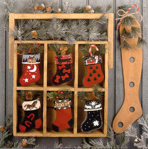 Stockings - Cross Stitch Pattern