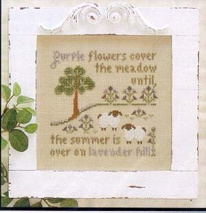 Lavender Hill - Cross Stitch Pattern
