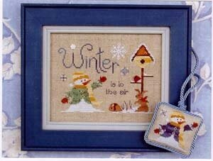 Winter is in the Air - Cross Stitch Pattern
