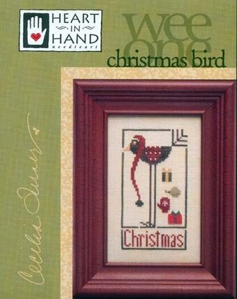 Christmas Bird - Cross Stitch Pattern
