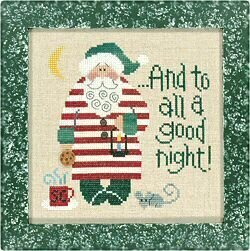 A Good Night Santa 04 - Cross Stitch Pattern