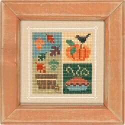 Flip-It Block November - Cross Stitch Pattern