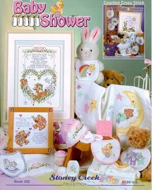 Baby Shower - Cross Stitch Pattern