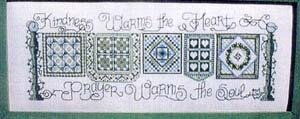 Prayer Warms the Soul - Cross Stitch Pattern