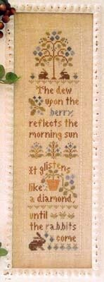 Morning Berries - Cross Stitch Pattern