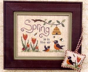 Spring is in the Air - Cross Stitch Pattern