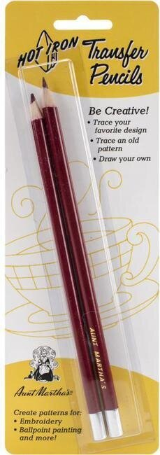 Aunt Martha's Hot Iron Transfer Pencils 2/Pkg