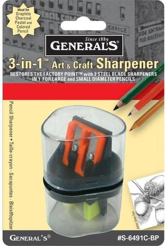 3-In-1 Art & Craft Sharpener