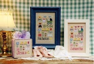 Baby Sampler - Cross Stitch Pattern