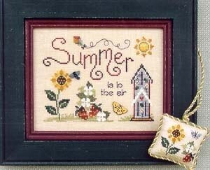 Summer is in the Air - Cross Stitch Pattern