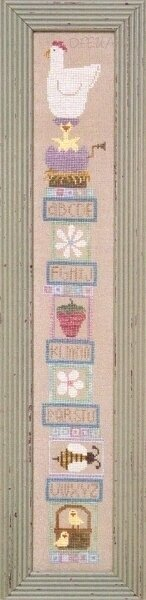 Spring Soapbox - Cross Stitch Pattern