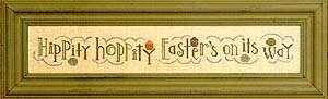 Easter Row - Cross Stitch Pattern