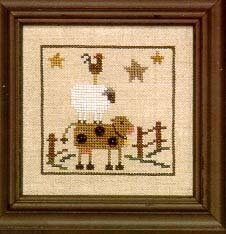 Snapperville - Stockyard - Cross Stitch Pattern