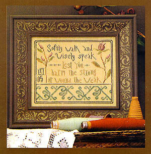 Softly Walk - Cross Stitch Pattern