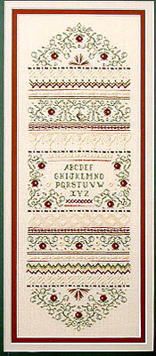 Cranberry Sampler - Cross Stitch Pattern