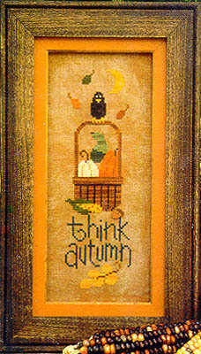 Think Autumn - Cross Stitch Pattern
