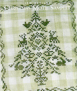 Christmas Motif Sampler - Cross Stitch Pattern