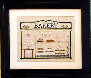Bakery - Cross Stitch Pattern