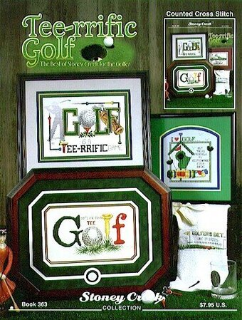 Tee-rrific Golf - Cross Stitch Pattern