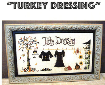 Turkey Dressing - Cross Stitch Pattern