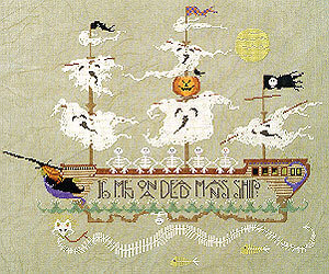 Skeleton Crew - Cross Stitch Pattern
