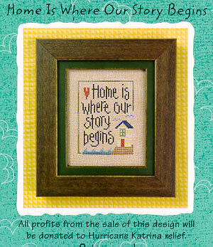 Home is Where Our Story Begins - Cross Stitch Pattern
