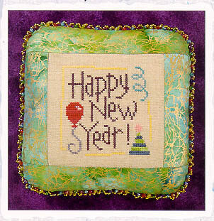 Happy New Year - Cross Stitch Pattern