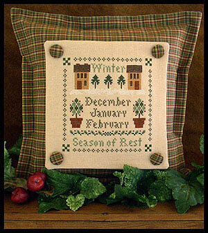 Season Of Rest - Cross Stitch Pattern