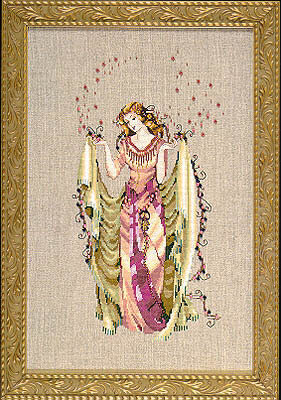 Forest Goddess - Mirabilia Cross Stitch Pattern